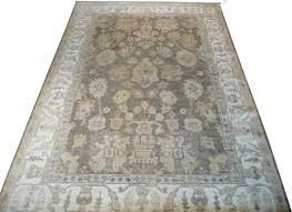 Galaxy Rug 6x9 Hand Knotted Gray Oushak Oriental Rug Traditional Area