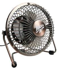 Small Desk Fans Maxxair Hvdf8 High Velocity 8 Inch Metal 12v Desk Fan