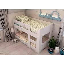 Kids Beds Melbourne Bunk Bed Compact Mid  Low Height - Melbourne bunk beds