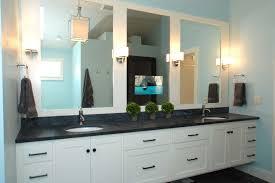 Tv In Mirror Bathroom by Tv Behind Mirror Houzz