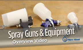 spray guns for composite hand lay up in stock fibre glast