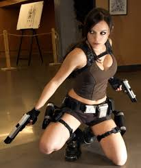 laura croft halloween costumes character lara croft version legend videogame tomb rider