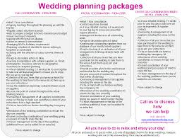 wedding planner packages cheshire wedding planning packages
