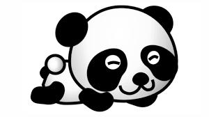 cute drawings of pandas how to draw a cute panda bear youtube