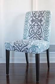 Dining Room Chair Cover Ideas Capital E Easy Parson Chair Slipcover Tutorial With Chevron Fabric
