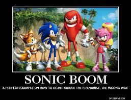 Sonic Boom Meme - sonic boom demotivational poster by meltingman234 on deviantart