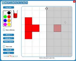 reflection u2013 create symmetrical patterns teachit primary