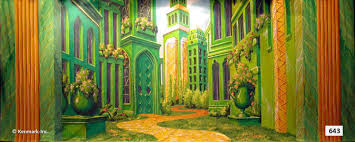 land of oz emerald city 643d emerald city interior theatrical