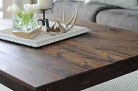 build a coffee table diy farmhouse coffee table love grows wild