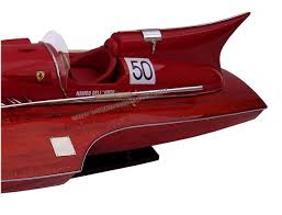 lifted ferrari model boat ferrari hydroplane