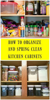 Cabinet Tips For Cleaning Kitchen by Spring Cleaning Kitchen Cabinets And Kitchen Appliances Its