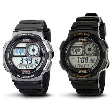 Negara Pembuat Jam Tangan Casio jam tangan casio original ae 1000 w 1a seri ae 1000 elevenia