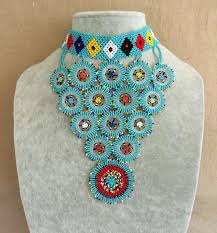 traditional african beaded necklaces and chokers