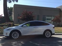 tesla model x cars outside apple car office business insider
