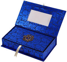 sweet boxes for indian weddings card box in royal blue and golden with sweet box