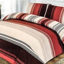 orange duvets in microfibre duck feather hollowfibre or anti allergy