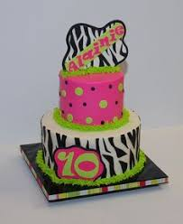 colorful girly zebra birthday cake i made 3 29 13 zebra doesn u0027t