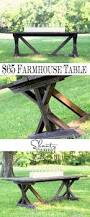 diy farmhouse table love these tables great woodworking project