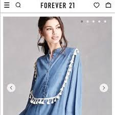 women u0027s forever 21 fringe dress on poshmark