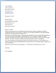 Sales Cover Letter Example Exquisite Sales Cover Letter Template With Sales Cover Letter