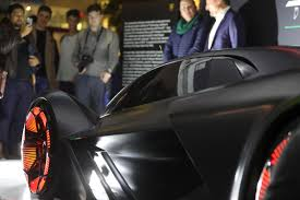 lamborghini concept car sports car gets spark from mit boston herald