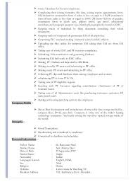 Hr Resume Format For Freshers Sample Resume Of Hr Executive U2013 Topshoppingnetwork Com