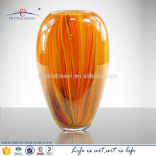 giant glass murano glass flower decoration vases wholesale cheap