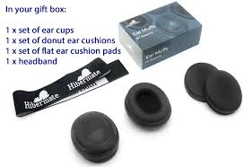 Box Cushion Pads New Hibermate Headband With Sound Reducing Ear Muffs For Studying