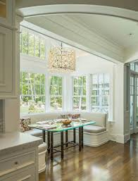 kitchen natural elegance breakfast nook ideas with rectangle
