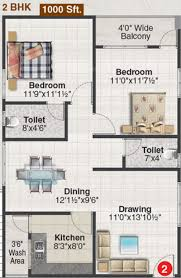 2bhk Plan For 500 Sq Ft 1000 Sq Ft 2 Bhk 2t Apartment For Sale In Shreya Homes Elegance