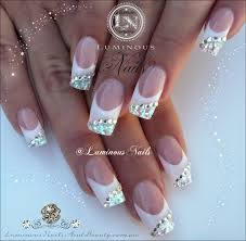 nails design silver beautify themselves with sweet nails