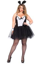 Figured Halloween Costumes Figure Bbw Size Curvy Bunny Costume Ebay