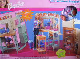 amazon com barbie all around home kitchen playset 2000 toys