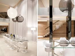 An All White Dining Room Sarah Sarna - All white dining room