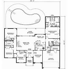 1 story 4 bedroom house plans ooh i this one the master suite is fantastic with two walk