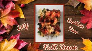 Pinterest Dollar Tree Crafts by Diy Autumn Dollar Tree Floral Decor Youtube Decorating
