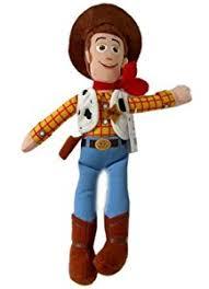 amazon disney toy story character plush 9in woody stuffed