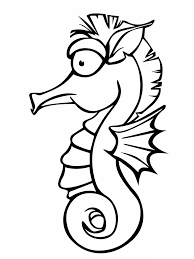 seahorse template animal templates free u0026 premium templates