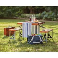 fold out picnic table folding picnic tables you ll love