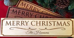 christmas signs specials by restaurant personalized christmas signs