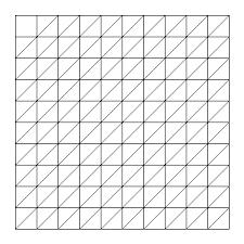 oblique grid