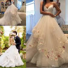 Hayley Paige Spring 2017 Wedding by Discount Hayley Paige 2017 Elegant 3d Appliques Wedding Dresses