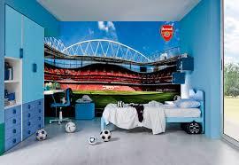 football team wall murals arsenal emirates stadium 1