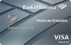rewards credit cards from bank of america