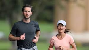 pippa middleton and james matthews jog through sydney u0027s botanica