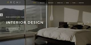 Best Interior Design Architecture Themes For WordPress - Homes interior design themes