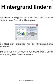 powerpoint design zuweisen tipps und tricks arbeiten mit power point marc oberbichler pdf