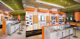store interior design bell aliant store branding