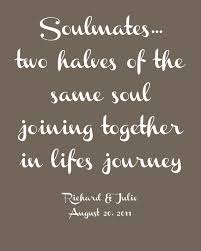 soulmates two halves of the same soul joining together in lifes