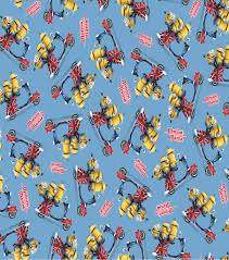 minion wrapping paper minions minion mania toss cotton fabric joann
